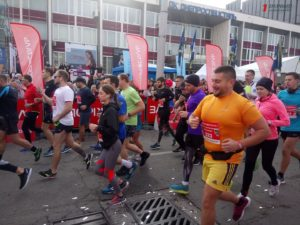 В Запорожье почти две тысячи участников вышли на старт полумарафона - ФОТО, ВИДЕО