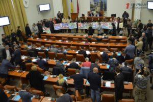В Запорожье депутаты забрали земельный участок у коммерсантов, которые не построили обещанный спортивный комплекс