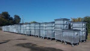 Во дворах Запорожья установят новые мусорные контейнеры