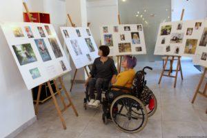 В Запорожье открылась фотовыставка «Сильные духом», героями которой стали люди с инвалидностью