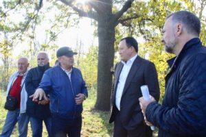 В Запорожье появится мемориальный комплекс «Священный Хортицкий дуб»