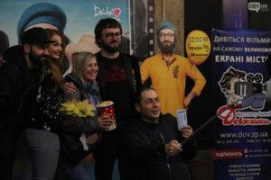 В Запорожье популярный исполнитель DZIDZIO презентовал свой новый фильм - ФОТО