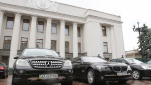 Четверо запорожских нардепов любят пользоваться парламентскими авто