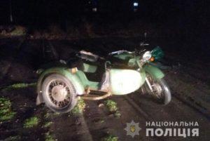 В Запорожской области пьяный мотоциклист устроил смертельное ДТП - ФОТО