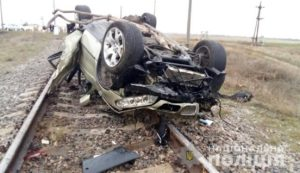 Полиция рассказала подробности смертельного ДТП на ж/д пути в Запорожской области - ФОТО, ВИДЕО