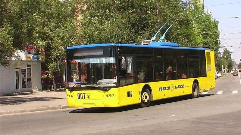 В Запорожье временно закроют движение троллейбусного маршрута №9