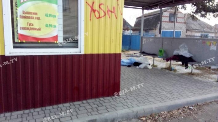 В Запорожской области на остановке обнаружили труп мужчины - ФОТО