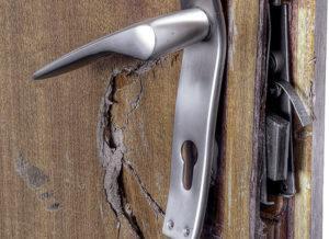 В Запорожской области нетрезвый парень выбил двери своему соседу и избил его