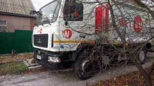 В Запорожье мусор из частного сектора вывозит новая техника