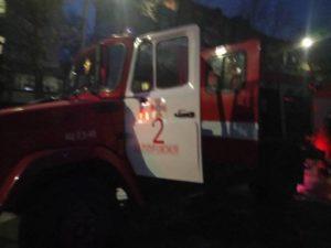 В Запорожье произошел пожар на Крытом рынке – ФОТО
