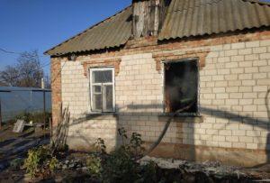 В Запорожской области пожар в жилом доме унес две жизни - ФОТО