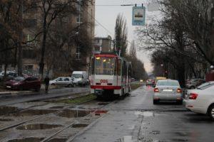 В Запорожье на линию выпустили еще один европейский б/у трамвай - ФОТО