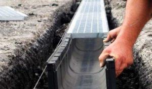 В Запорожье возле одной из многоэтажек построят систему водоотведения