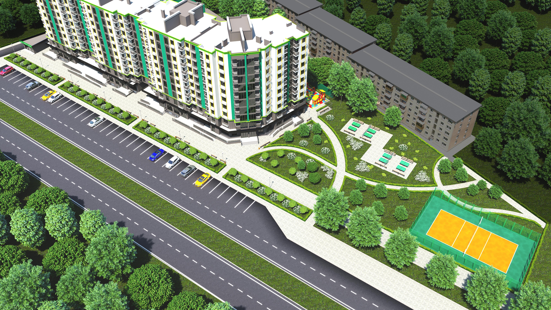 Жилой комплекс с удобной парковкой, зеленой зоной и автономным отоплением: в Запорожье заходит новый застройщик