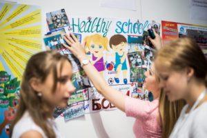 Запорожская область стала одним из лидеров по количеству школ во всеукраинской программе «Healthy Schools»