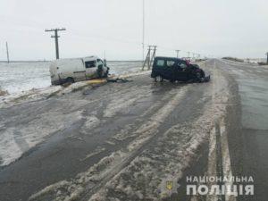 В Запорожской области произошло серьезное ДТП: три человека в больнице - ФОТО