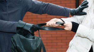В Запорожье злоумышленник выхватил из рук девушки сумку и принялся бежать