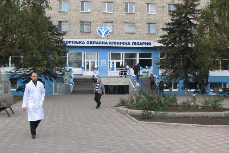В Запорожье снова не успевают до конца года открыть многострадальный пищеблок в областной больнице