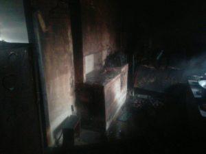 В Запорожской области сгорел дачный дом - ФОТО
