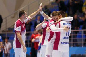Запорожский гандбольный клуб «Мотор» сыграет против словенцев в рамках Лиги Чемпионов