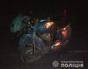 В Запорожской области мотоциклист врезался в микроавтобус: есть пострадавшие - ФОТО