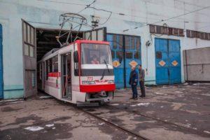В январе в Запорожье выпустят на линию пять трамваев - ФОТО