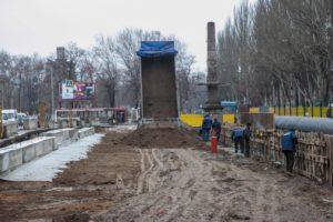В Запорожье продолжается реконструкция путепровода на Металлургов: что уже сделали - ФОТО