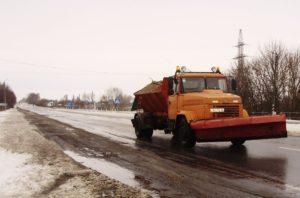 Трассы Запорожской области расчищены от снега