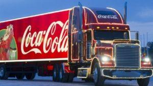 В Запорожье приедет новогодний грузовик «Coca-Cola»