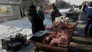 В Запорожье продолжается борьба со стихийной торговлей