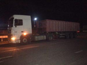 В Запорожской области перегруженные грузовики оштрафовали на 5 тысяч евро - ФОТО