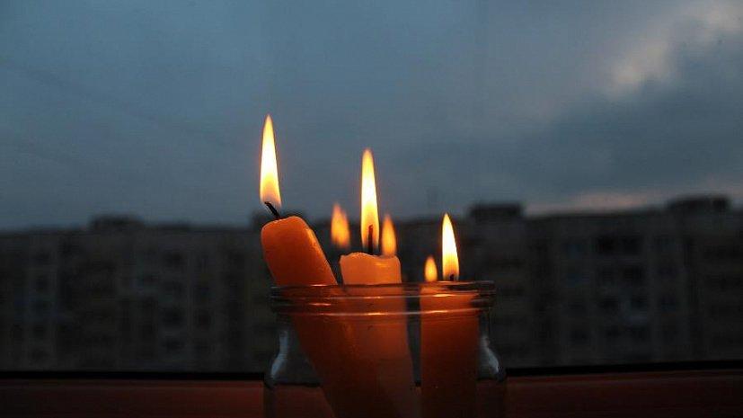 Из-за аварии некоторые жители Запорожской области остались без электричества