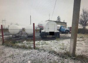 В Запорожской области закрыли нелегальный автогазозаправочный пункт - ФОТО
