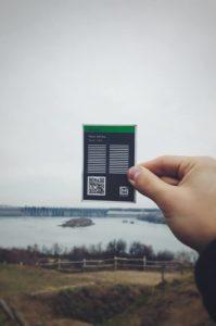 В Запорожье установят необычные туристические таблички с QR-кодами и штрифтом Брайля