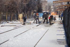 В Запорожье продолжается ремонт путепровода по улице Калибровой - ФОТО