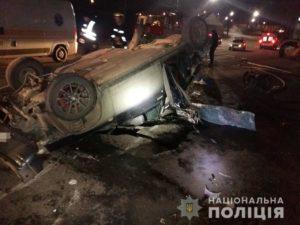 В Запорожской области произошло смертельное ДТП: два человека погибли - ФОТО