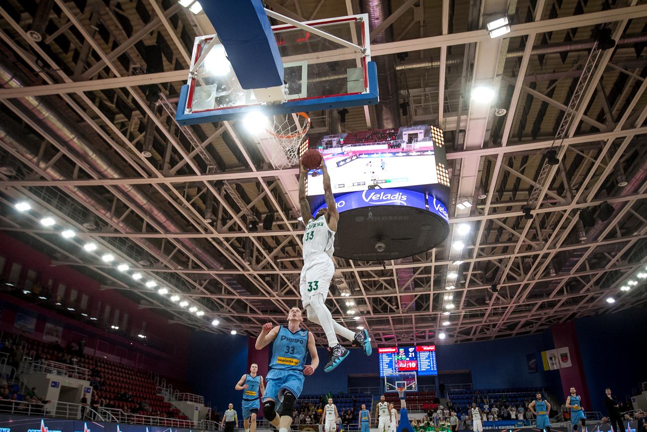 Запорожские баскетболисты проиграли «Днепру» перед ответной игрой Кубка - ФОТО