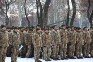 В Запорожье поздравили артиллеристов с наступающим Днем Вооруженных Сил Украины - ФОТО