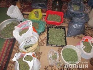 У жителя Запорожской области нашли дома 20 килограмм наркотиков - ФОТО