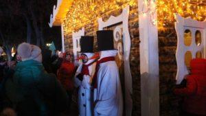 В Запорожье во время новогодних и рождественских праздников можно заглянуть в резиденцию Святого Николая