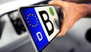 Запорожцам рассказали, когда завершится льготный период оформления авто на еврономерах