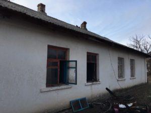 В Запорожской области горел жилой дом: есть погибший - ФОТО
