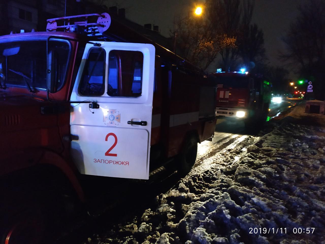 В Запорожье ночью произошел пожар в студенческом общежитии: спасатели эвакуировали полсотни человек - ФОТО