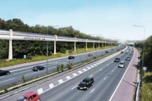 Между Днепром и Запорожьем предлагают построить Hyperloop