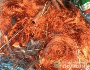 В Запорожской области на блокпосте остановили микроавтобус с полтора тоннами лома цветных металлов - ФОТО