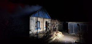 В Запорожской области при пожаре в жилом доме погиб мужчина - ФОТО