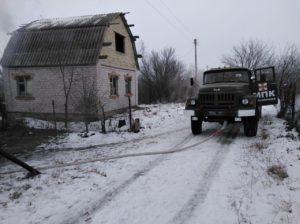 В Запорожской области произошел пожар в садовом обществе - ФОТО