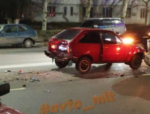 В Запорожской области на год лишили прав водителя, который спровоцировал тройное ДТП