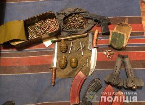 Житель Запорожья хранил дома арсенал оружия и боеприпасов - ФОТО, ВИДЕО