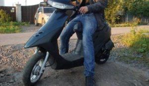 В Запорожской области мужчина украл мопед со двора дома